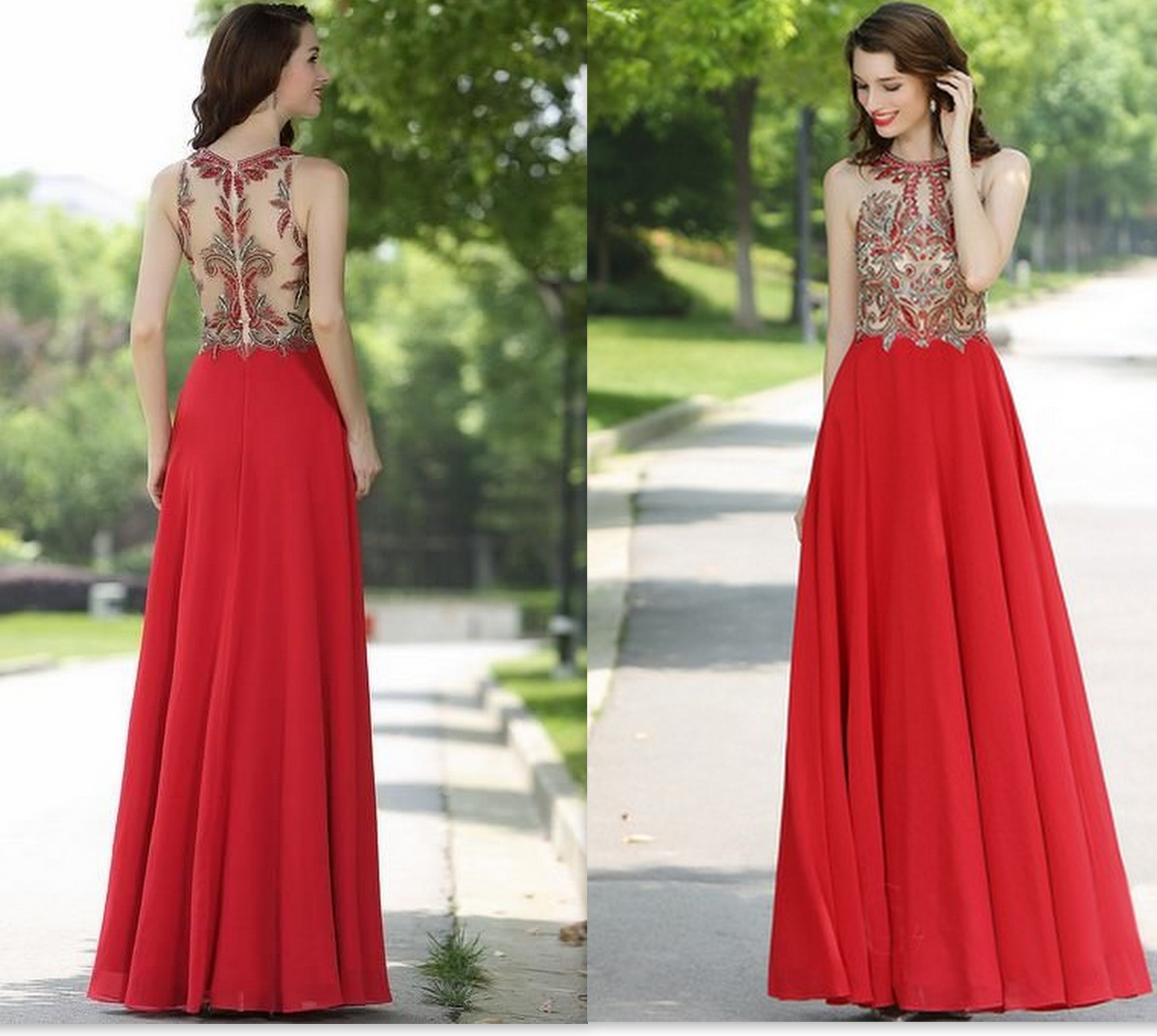Cheap red new years eve dress 2018