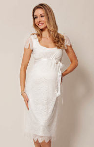 9. Long maternity dresses for special occasions