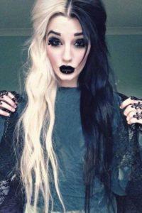 Halloween hairstyles for vampires