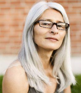 1. Women over 60 hairstyles with glasses