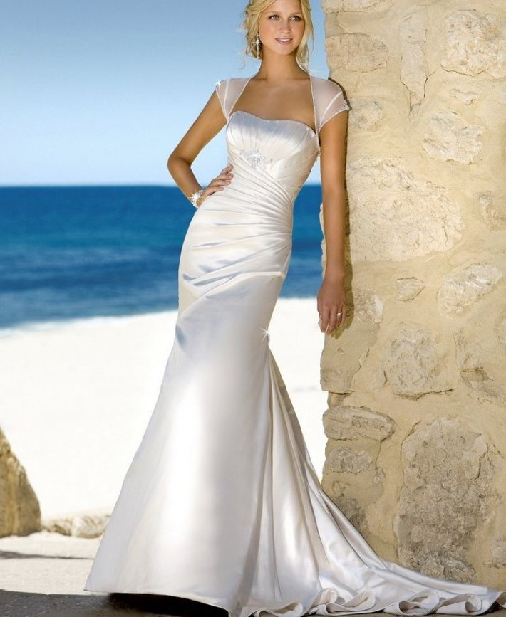 Honeymoon Clothes For Bride: 50 Decent Wedding Dresses For Older Brides Over 60