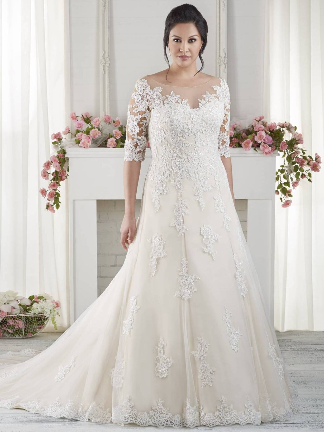 Wedding Dresses for Older Brides Over 65 – Plus Size Women Fashion