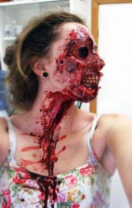 Halloween Horror haircut