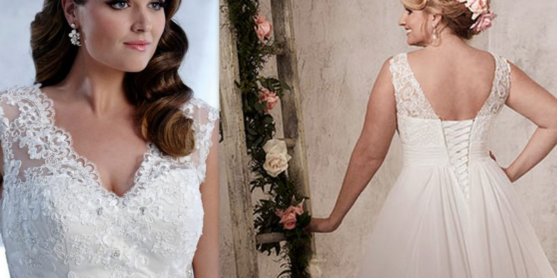60 Latest Wedding Dresses for Second Marriage Over 40 - Plus ...