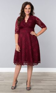 12. Plus size party dresses for new year eve