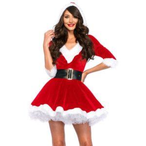 14. Cute Christmas dress for girls