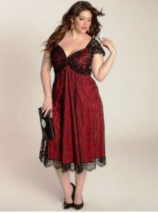 14. Plus size party dresses for new year eve