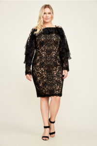 18. Plus size party dresses for new year eve
