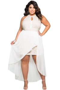 Trendy plus size dresses for Christmas