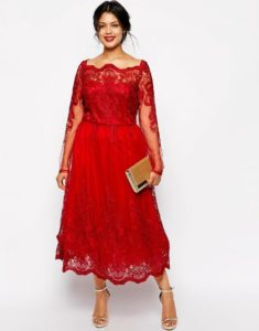 3. Best red dress for women on Christmas
