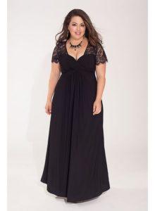 5. Long plus size dresses for Christmas