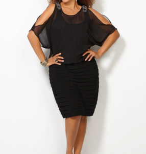 8. Trendy plus size dresses for Christmas