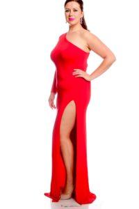 8. long sexy plus size dress for women