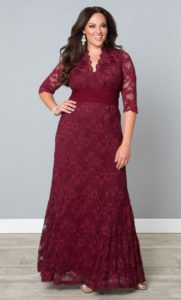 9. Trendy plus size dresses for Christmas