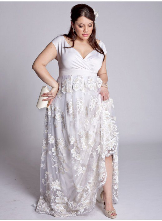50 Attractive Dresses For Big Tummy And Hips - Plus Size Women Fashion-8326