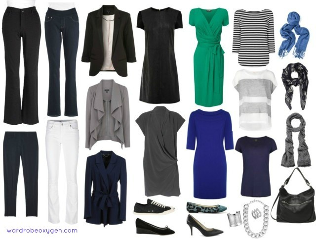 capsule Wardrobe for 50 Year-Old Woman