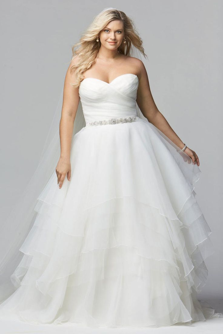 40 Stylish Wedding Dresses for Plus Size Women 2019 - Plus Size ...