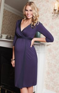 10. Long maternity dresses for special occasions
