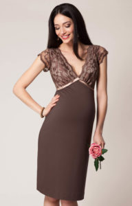 11. Long maternity dresses for special occasions