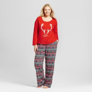 11. New year eve pajamas for plus size women