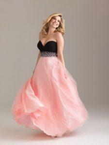 11. Pregnant prom dress