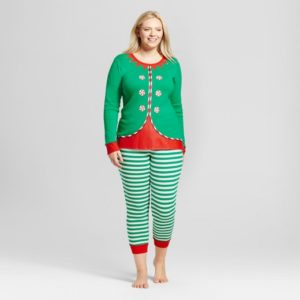 12. New year eve pajamas for plus size women