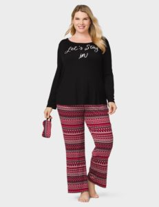 13. New year eve pajamas for plus size women
