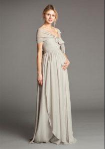 13. Pregnant prom dress