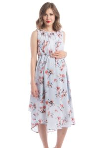 14. Affordable formal maternity dresses for baby shower