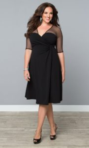 14. Cocktail dresses for plus size women