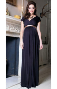 14. Long maternity dresses for special occasions