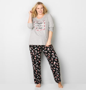 17. New year eve pajamas for plus size women