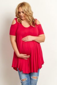 19. Plus size maternity dresses for baby shower