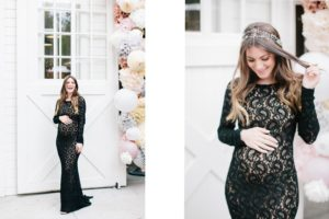 2. Maternity dresses for wedding guest