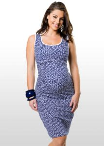 23. Affordable formal maternity dresses for baby shower