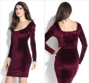 24. Sexy hip dresses for women