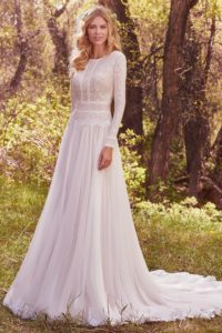 26. Long wedding dresses 2018