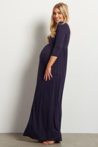 27. Maternity prom dresses