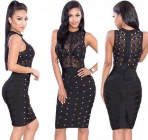 27. Sexy hip dresses for women