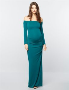 30. Maternity evening gowns