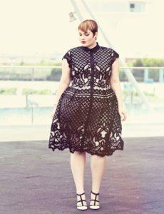 30. Plus size hip dresses