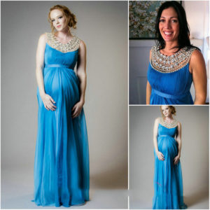 34. Maternity evening gowns