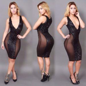 34. Plus size hip dresses