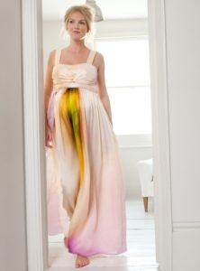 35. Maternity prom dresses