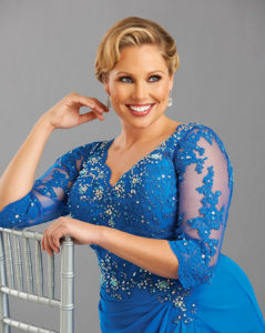 35. Plus size evening dresses for cold weather