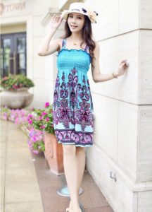36. Cute medium size summer dresses