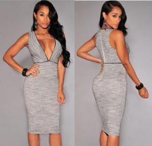 36. Plus size hip dresses