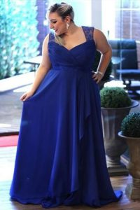 37. Plus size evening dresses for cold weather