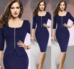 38.Sexy hip dresses for women