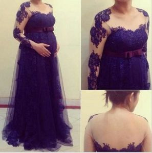 4. Plus size maternity dresses for special occasions